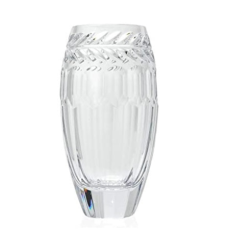 "Curraghmore 10"" Vaseby Waterford Crystal"