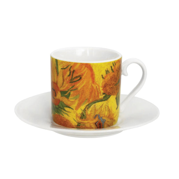 Artists Collection Vincent Set Of 4 Espresso Cups Party Pack