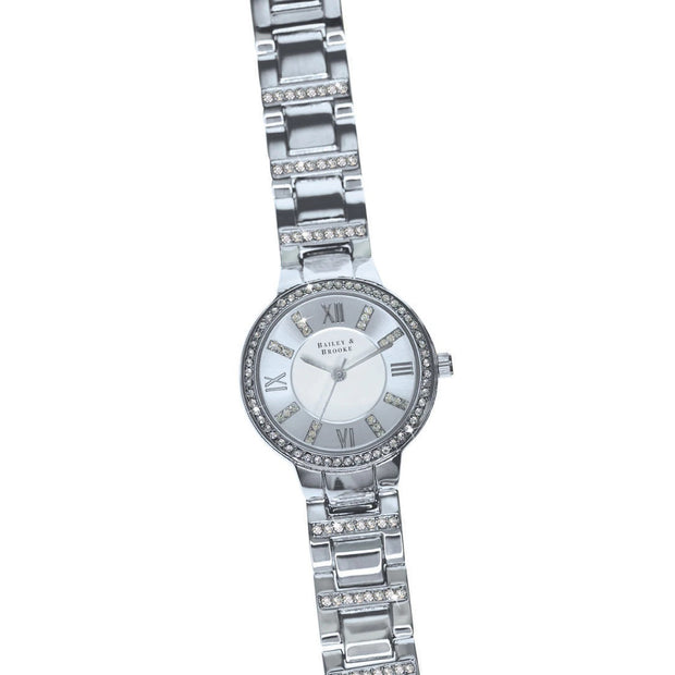Bailey & Brooke Continuance Silver Watch