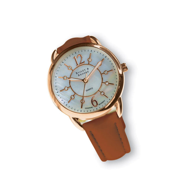 Bailey & Brooke Infinity Rose Gold Watch