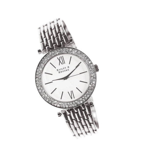 Bailey & Brooke Tempo Silver Watch