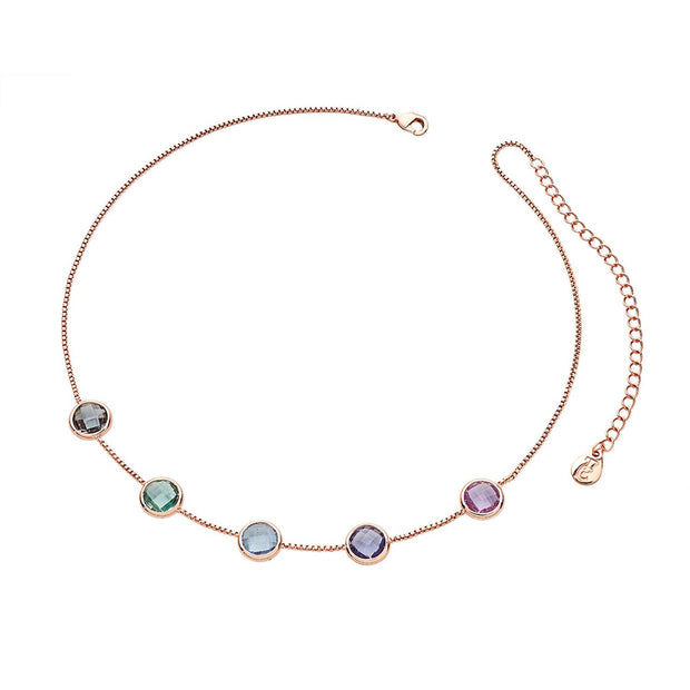 Pastel Choker Necklace