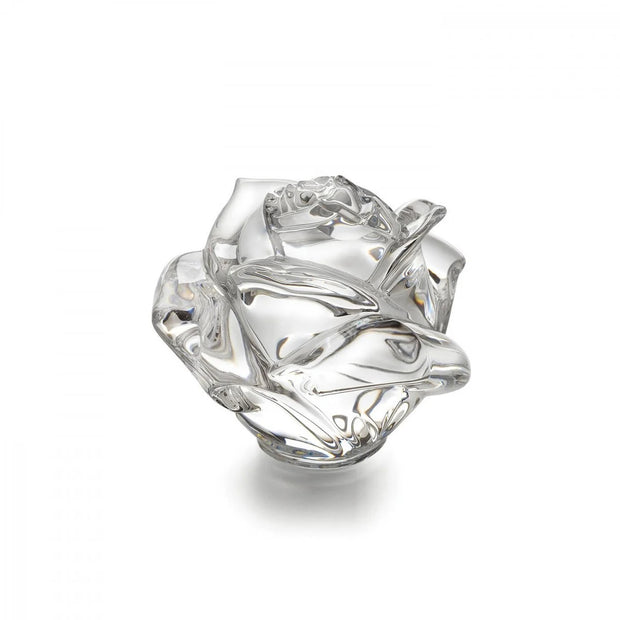 Waterford Crystal Rose Paperweight by Waterford