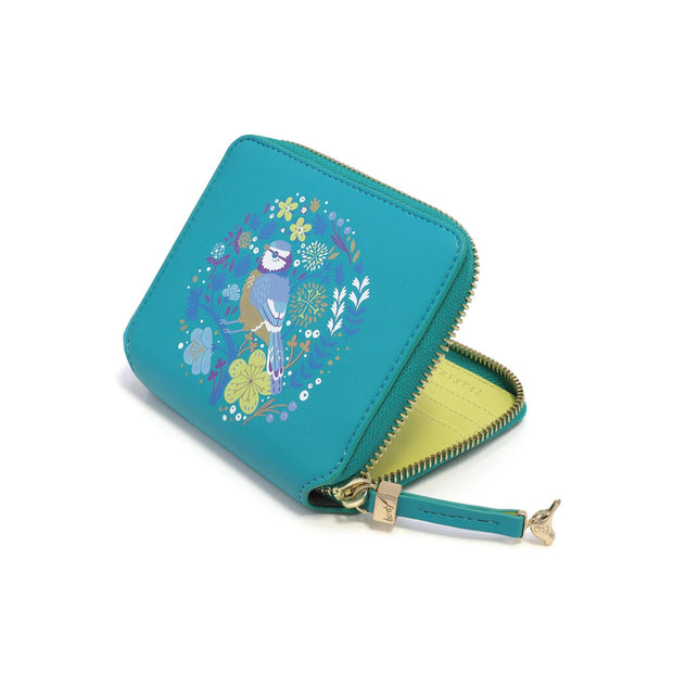 Blue Tit Birdy Wallet by Tipperary Crystal