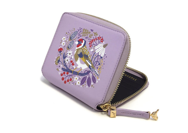Goldfinch Birdy Wallet by Tipperary Crystal