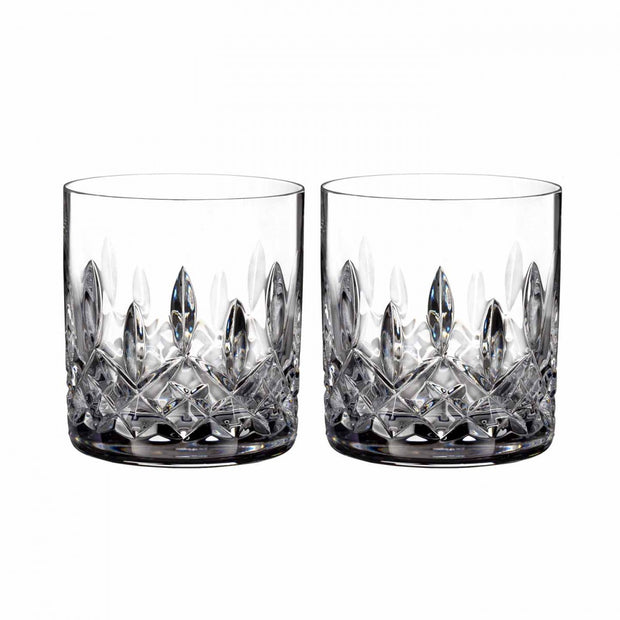 Lismore Straight Tumbler 7oz Pair by Waterford