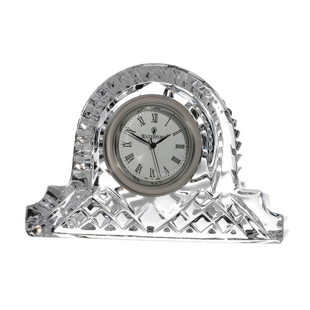 Lismore 12cm Cottage Clock by Waterford