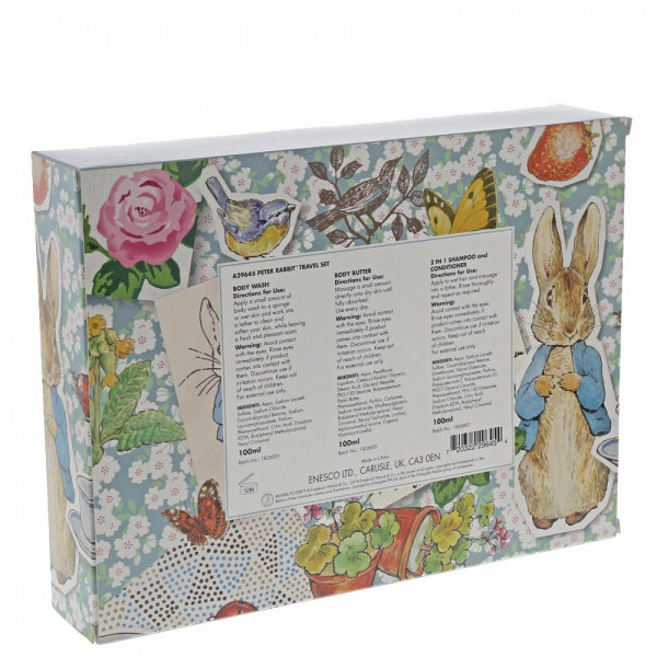 Peter Rabbit Clean Linen Travel Set