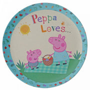 Peppa Pig Bamboo Egg Cup Dinner Set