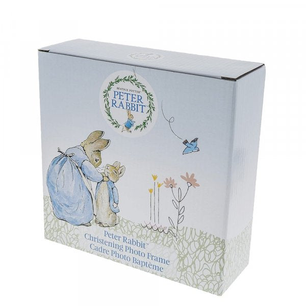 Beatrix Potter Peter Rabbit Christening Photo Frame
