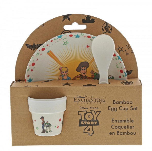 Toy Story 4 Bamboo Egg Cup Set