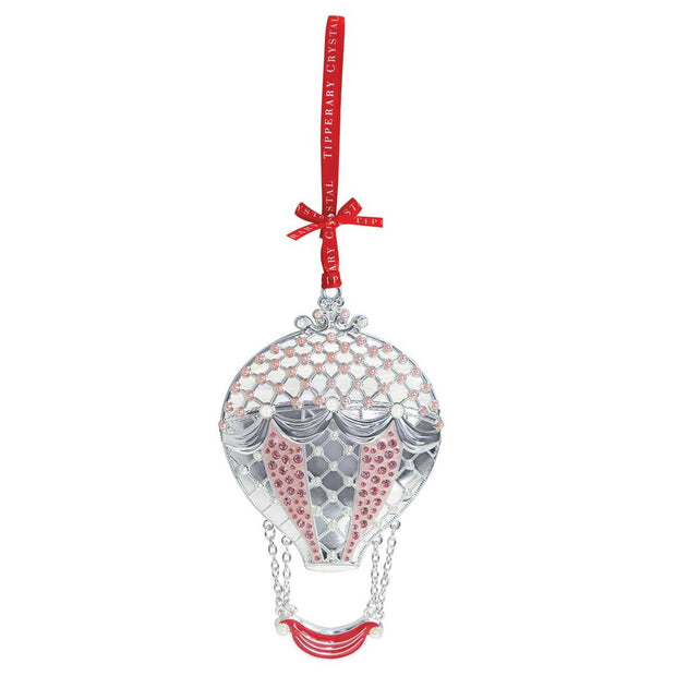 Pearl Hot Air Balloon Christmas Decoration