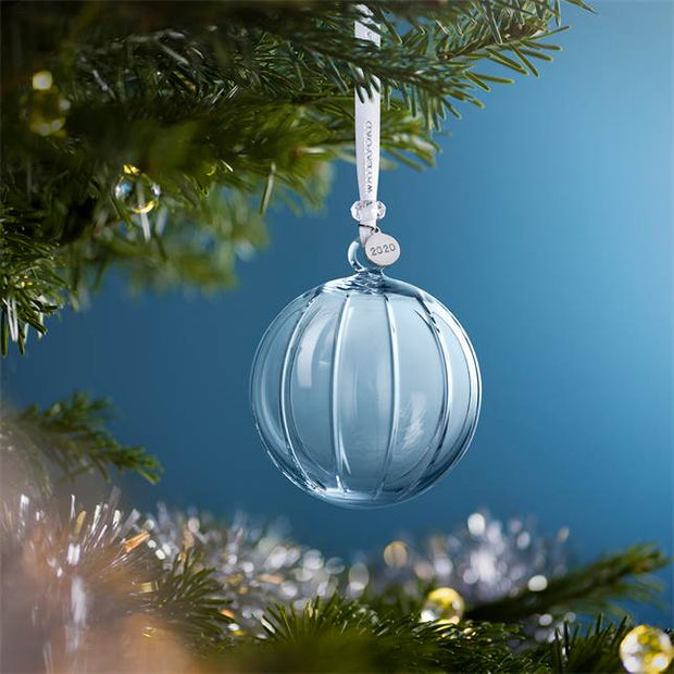 "Short Stories ""Aras"" Ball Ornament 3.8"" by Waterford"