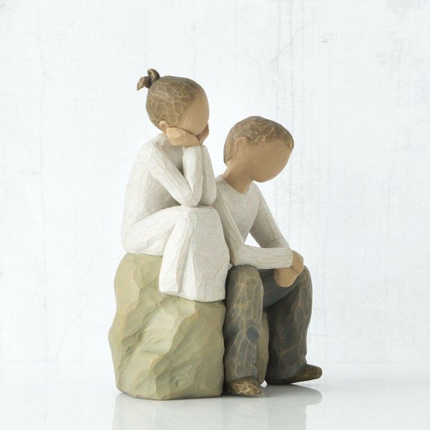 Brother and Sister by Willow Tree