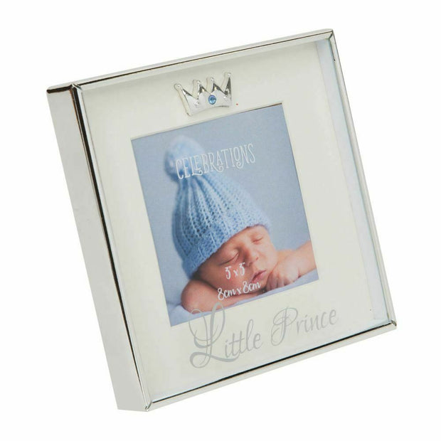 "Silver Plated Box Frame - Little Prince 3"" x 3"""