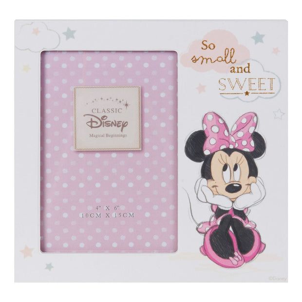 Disney Magical Beginnings 4'' x 6'' Photo Frame - Minnie Mouse