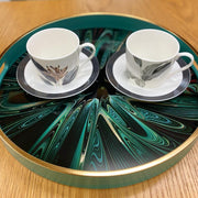 Mindy Brownes Serving Tray - Green Envy