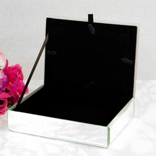 Vintage Boutique Glass Jewellery Box