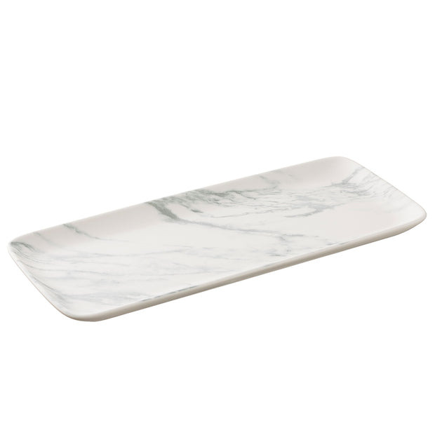 Marbled Tableware Collection - Rectangular Plate