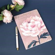Daydreams Pink Floral A5 Notepad & Pen Gift Set