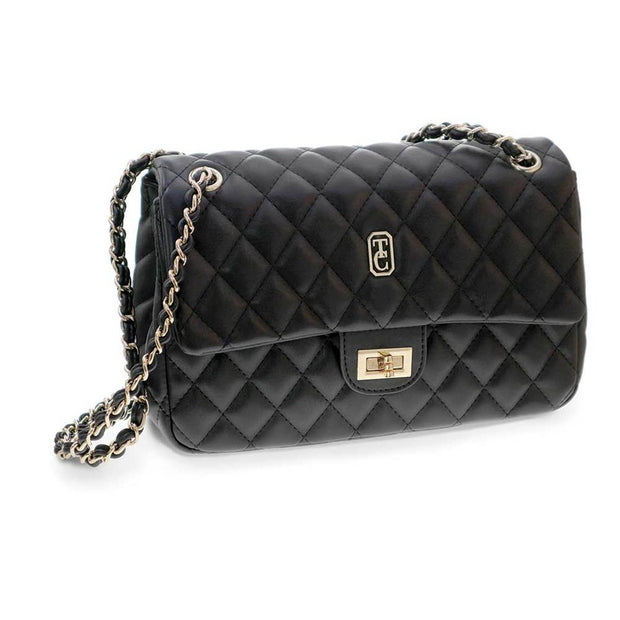 Quilted Shoulder Bag Palermo Black