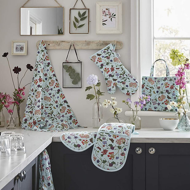 Cotton Tea Towel RHS Spring Floral