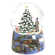 Snow Globe Illuminated Christmas Tree