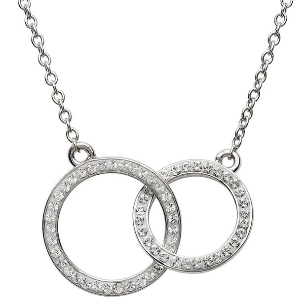 Swarovski Double Circle Necklace