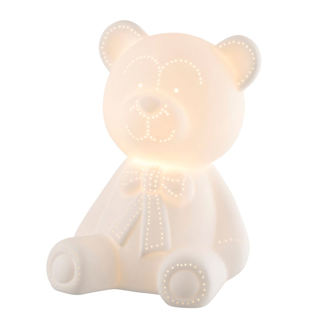Belleek Living Teddy Bear Luminaire