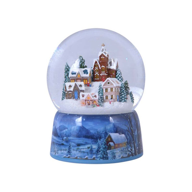 Snow Globe Wintry Village