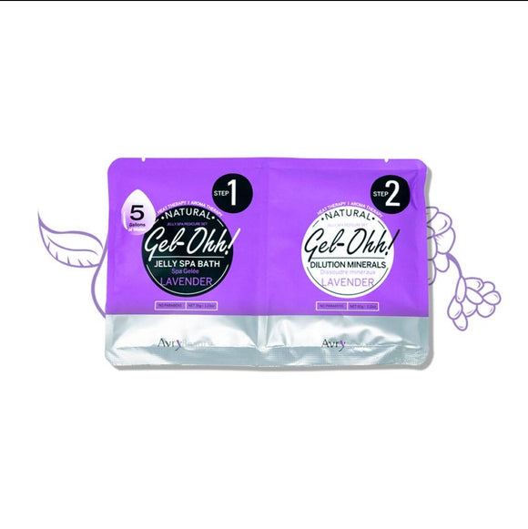 Jelly Spa Pedicure Set~Lavender