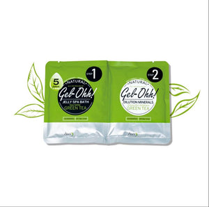 Jelly Spa Pedicure Set~Green Tea