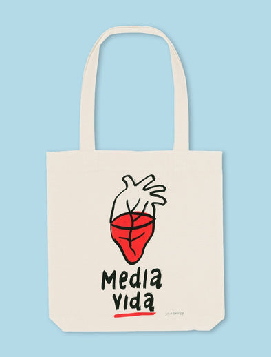 Tote Bag Media vida - SAMANTÉ!