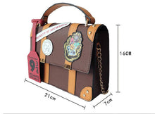 Load image into Gallery viewer, Leather Harry Potter Hogwarts Handbag