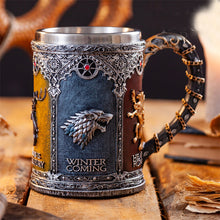 Load image into Gallery viewer, Game of Thrones Stainless Steel Drinking Mug