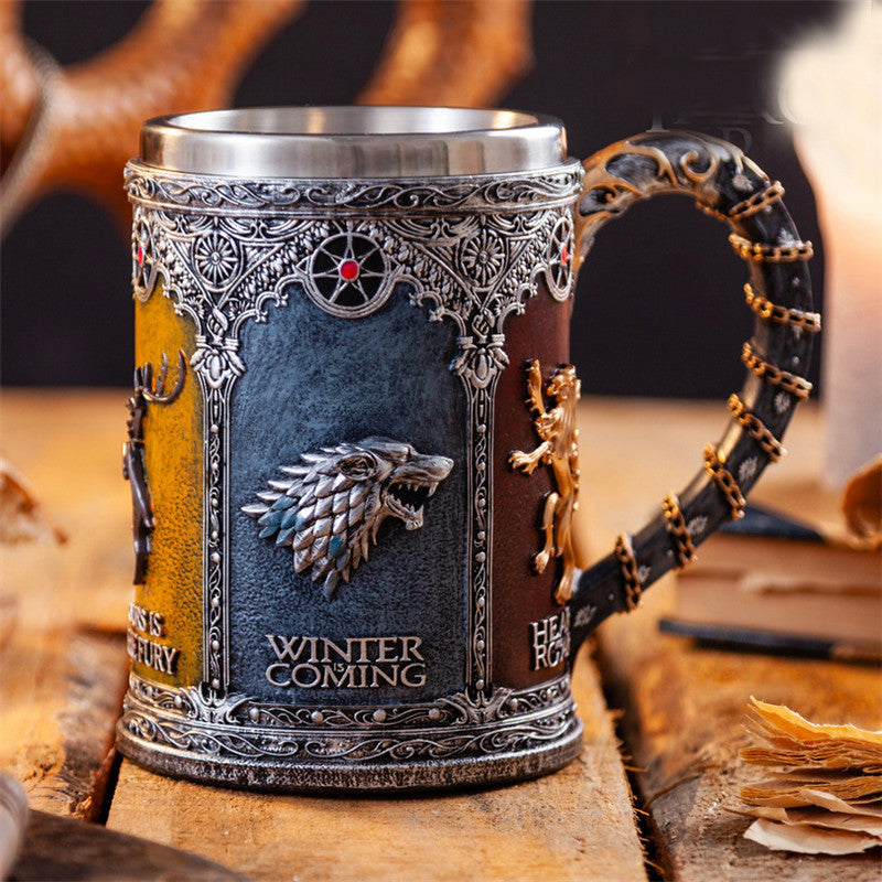 Game of Thrones Stainless Steel Drinking Mug