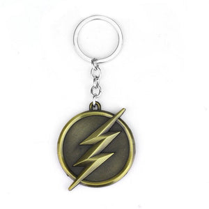 DC Comics Justic League The Flash Lightning Keychain