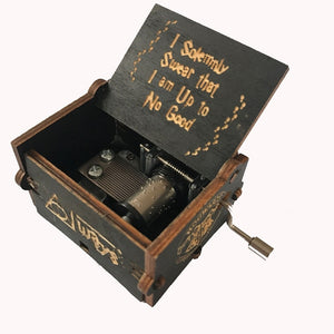 Authentic Harry Potter Vintage Music Box