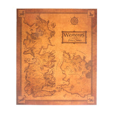 Load image into Gallery viewer, Game of Thrones Retro Westeros Map ( 42x36 )