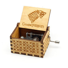 Load image into Gallery viewer, Wooden Vintage Game of Thrones Music Box