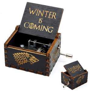 Wooden Vintage Game of Thrones Music Box