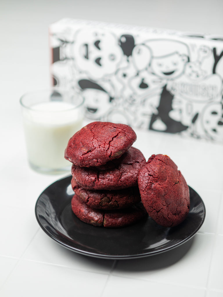 6 Baked Cookies // 2 x Red Velvet 2 x White Chocolate Oreo 2 x Triple Chocolate Salted Caramel Brownie  // (Preorder Canada wide)