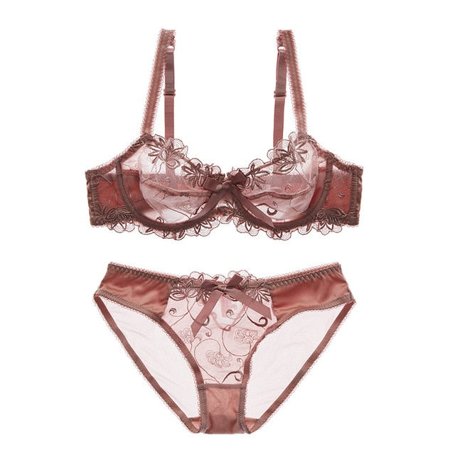 Lingerie Set (C & D Cup) Ultrathin - That Swag Tho