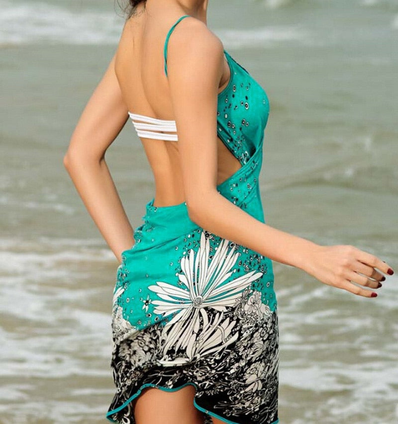Beach Bikini Cover Dress - That Swag Tho