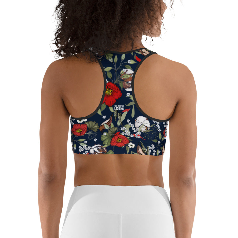 Modern Botanical Sports bra