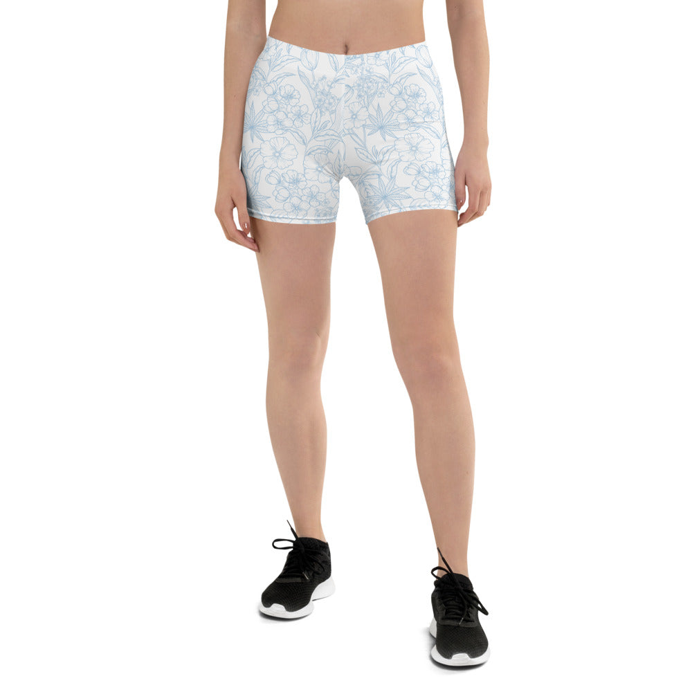 Light Floral Shorts