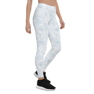 Light Floral Leggings
