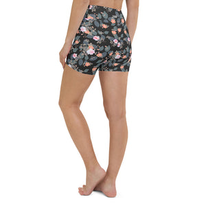 Small Bouquets Yoga Shorts
