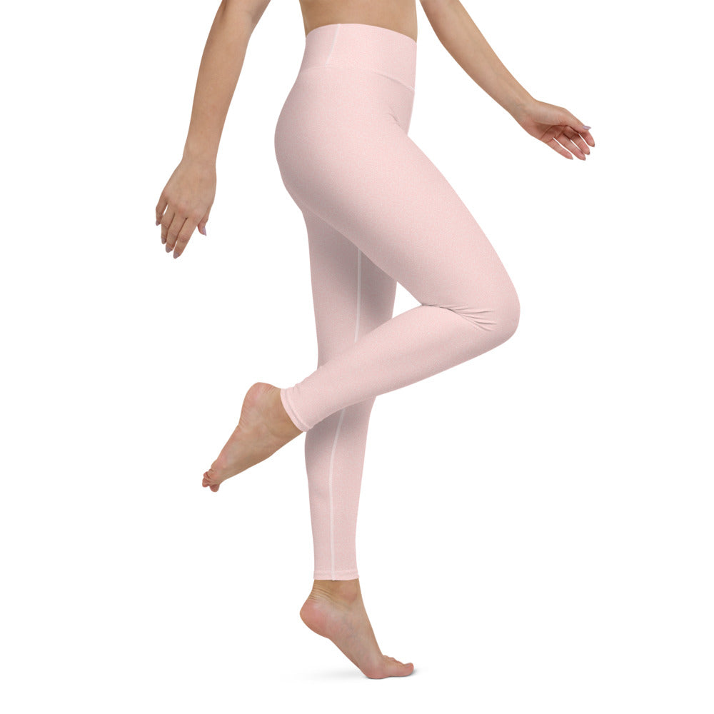 Pink Bubble Yoga Leggings