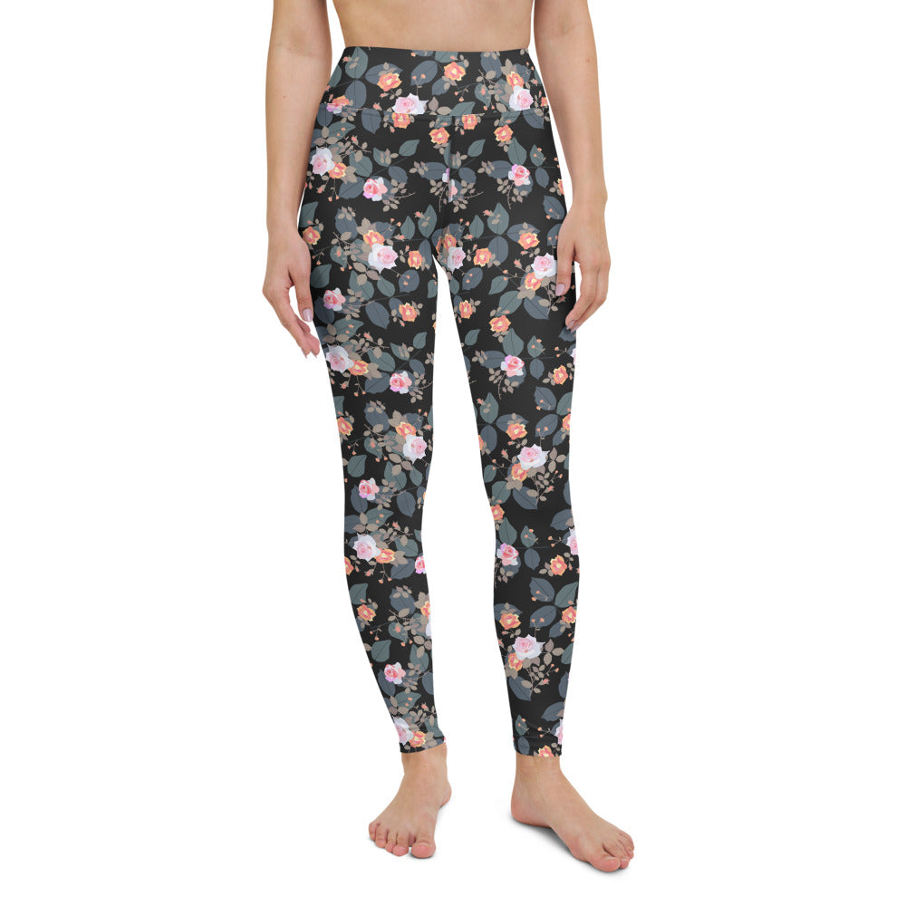 Small Bouquets Yoga Leggings